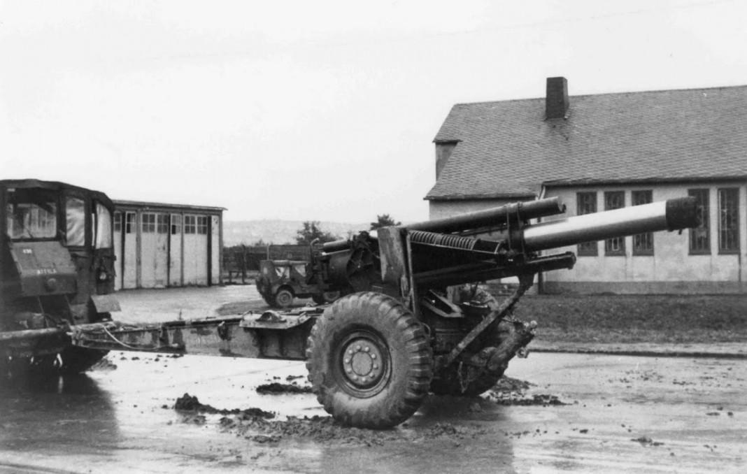 M5-155mm in Kazerne