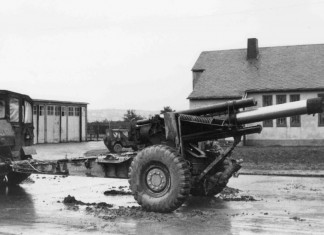 M5-155mm in Kazerne