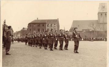 1952 Laatste regimentsfeest Euskirchen